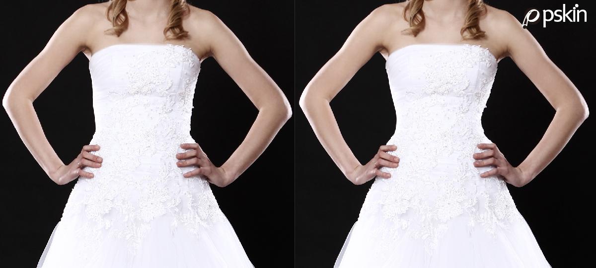 不同腰臀比穿禮服的差異